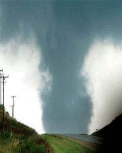 Photo of Stoughton Tornado, 2005.